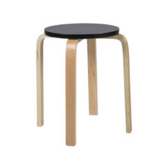 Taburetė Sixty, juoda kaina ir informacija | Virtuvės kėdės | pigu.lt