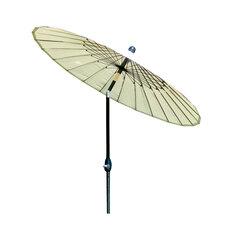 Lauko skėtis Shanghai, kreminis