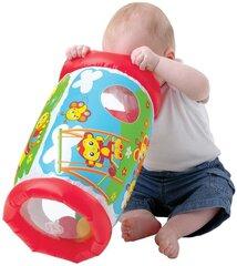 Pripučiamas ritinys Playgro Peek in Roller, 0184971 kaina ir informacija | Pripučiami žaislai ir paplūdimio prekės | pigu.lt