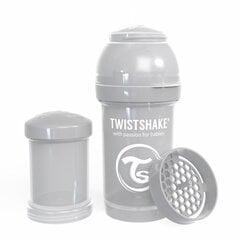 Buteliukas Twistshake Anti-Colic, 180 ml, pastel grey kaina ir informacija | Buteliukas Twistshake Anti-Colic, 180 ml, pastel grey | pigu.lt