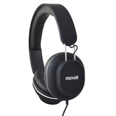 Maxell Classics Retro Universal Stereo Headphones with Microphone Black