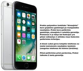 Apple iPhone 6 16GB, Pilka (Atnaujinta) Pre-owned A-klasė kaina ir informacija | Mobilieji telefonai | pigu.lt