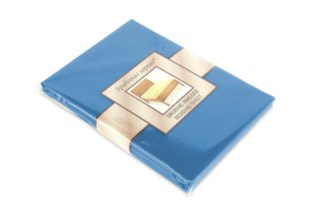 Drobinė paklodė 150x220 cm, mėlyna