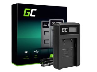 Green Cell Battery Charger CB-2LW for Canon NB-2L / NB-2LH, PowerShot G7 G9 S70 S80 R100 R11 Canon Elura 85 90 EOS 350D 400D