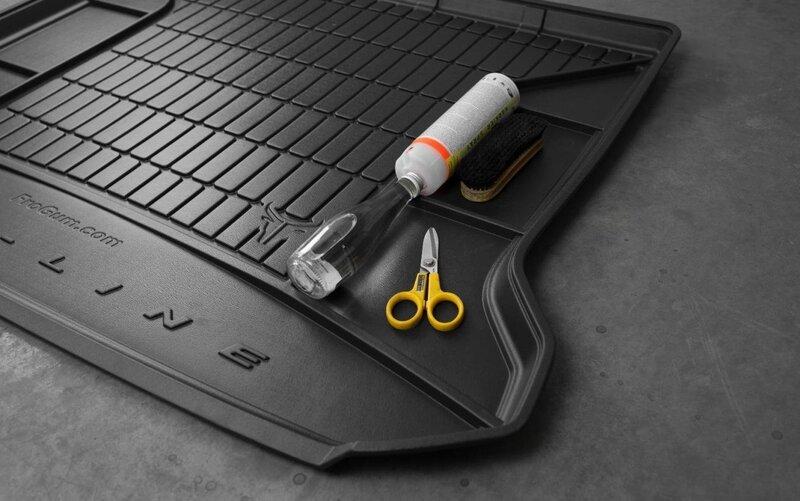 Guminis bagažinės kilimėlis Proline VOLKSWAGEN Touran I Minivan 2003-2010