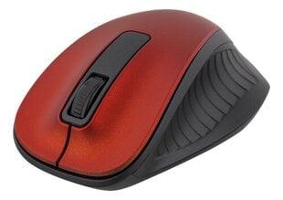 Bevielė pelė Deltaco MS-709, raudona kaina ir informacija | Pelės | pigu.lt