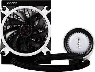 Antec Mercury 120 RGB, 120mm RGB Intel/AMD CPU Liquid Cooler (0-761345-74012-8)