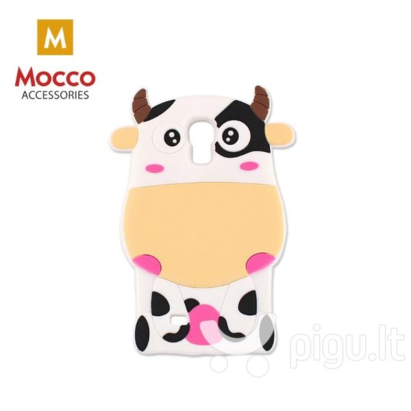 Apsauginis dėklas Mocco 3D Cow, Apple iPhone 6 / 6S