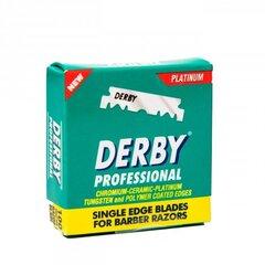Vienašmeniai peiliukai Derby Extra, 100 vnt. kaina ir informacija | Skutimosi priemonės ir kosmetika | pigu.lt
