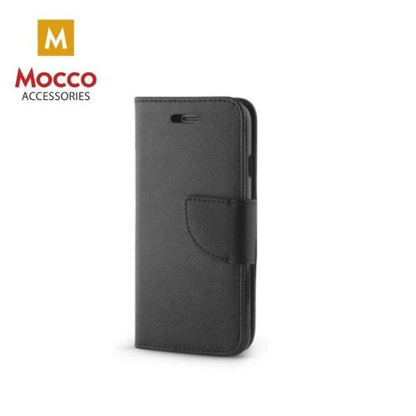 Mocco Fancy Book Case For Samsung J400 Galaxy J4 (2018) Black kaina ir informacija | Telefono dėklai | pigu.lt