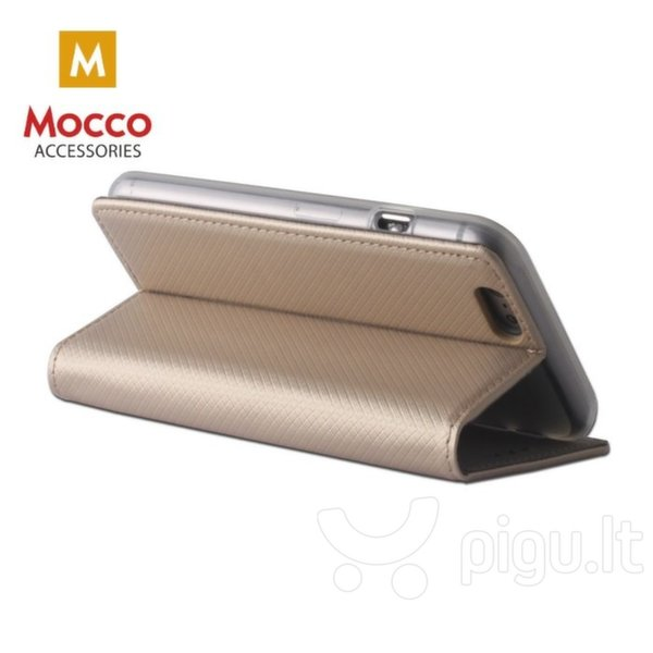 Mocco Smart Magnet Book Case For Xiaomi Redmi S2 Gold atsiliepimas