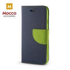 Mocco Fancy Book Case For Xiaomi Redmi Note 5 Pro Blue - Green kaina ir informacija | Telefono dėklai | pigu.lt