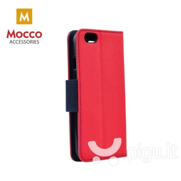 Mocco Fancy Book Case For Xiaomi Redmi Note 5 Pro Red - Blue kaina