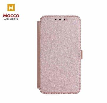Apsauginis eko odos dėklas Mocco Shine skirtas Huawei Mate 10 Lite, rožinis kaina ir informacija | Telefono dėklai | pigu.lt