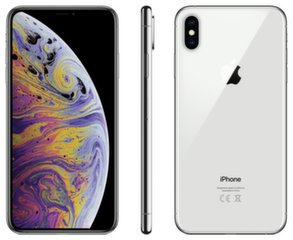 Apple iPhone XS Max, 64 GB, Sidabrinė
