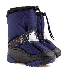 Žieminiai batai su natūralia vilna Demar, Snowmen c 4010, mėlyni