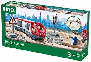 Traukinys su bėgiais Brio, 33511 kaina ir informacija | Traukinys su bėgiais Brio, 33511 | pigu.lt