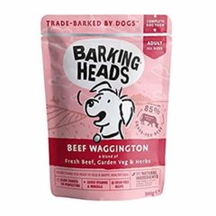Barking Heads su jautiena Beef Waggington 300 g
