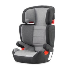 Automobilinė kėdutė KinderKraft Junior Fix ISOFIX, 15-36 kg, black/grey