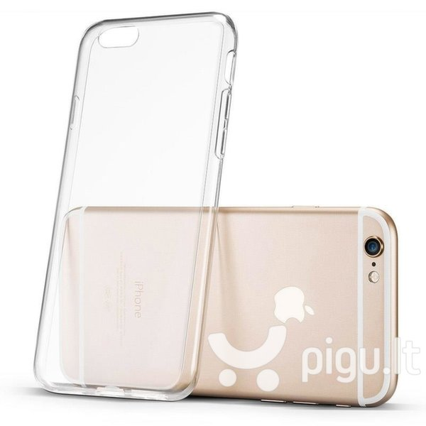 Ultra Clear 0.5mm Case Gel TPU dėklas telefonui HTC Desire 12 permatomas