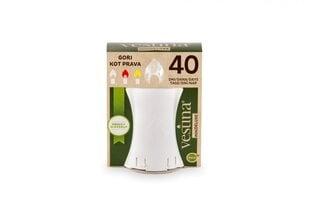 Vestina mini deluxe elektroninė žvakė 10,5 cm, šviečia 40 dienų