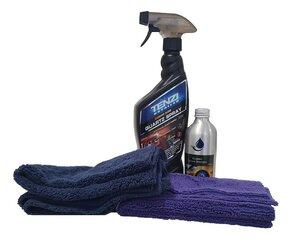 Automobilio šampūnas + Kvarcinis blizgiklis kaina ir informacija | Automobilinė chemija | pigu.lt