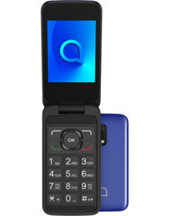 Alcatel 3025X, 256 MB, Metallic Blue kaina ir informacija | Alcatel 3025X, 256 MB, Metallic Blue | pigu.lt