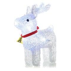 Kalėdinė dekoracija Elnias RETLUX RXL 253 30LED Cold White, 37cm, Outdoor kaina ir informacija | Kalėdinės dekoracijos | pigu.lt