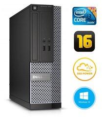 Dell 3020 SFF i3-4130 16GB 120SSD DVDRW WIN10Pro цена и информация | Dell 3020 SFF i3-4130 16GB 120SSD DVDRW WIN10Pro | pigu.lt