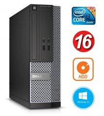 Dell 3020 SFF i3-4130 16GB 250GB DVDRW WIN10Pro цена и информация | Dell 3020 SFF i3-4130 16GB 250GB DVDRW WIN10Pro | pigu.lt