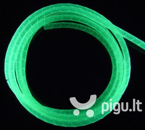 BitsPower Spiral for cables 4mm - 1m - UV Green (BP-UVCO-3)