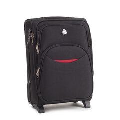 Mažas lagaminas Wings 1708-2 S, juodas kaina ir informacija | Mažas lagaminas Wings 1708-2 S, juodas | pigu.lt