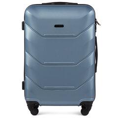 Vidutinis lagaminas Wings Peacock M, šviesiai mėlynas