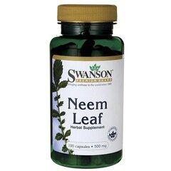 Пищевая добавка Swanson Neem 500 мг., 100 капсул.