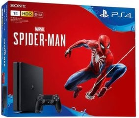 Sony PlayStation 4 (PS4) Slim 1TB + Marvels Spider-Man