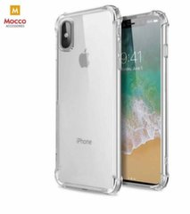 Mocco Anti Shock Case 0.5 mm Silicone Case for Samsung J415 Galaxy J4 Plus (2018) Transparent kaina ir informacija | Telefono dėklai | pigu.lt