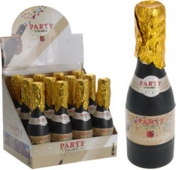 Kofeti patranka Šampano butelis 20x5x5 cm kaina ir informacija | Dekoracijos, indai šventėms | pigu.lt