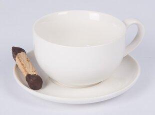 Alpina Cappuccino puodelių ir lėkštučių rinkinys, 12 dalių