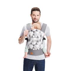 Рюкзак-переноска Kinderkraft Nino, серый цена и информация | Слинги, эргорюкзаки | pigu.lt