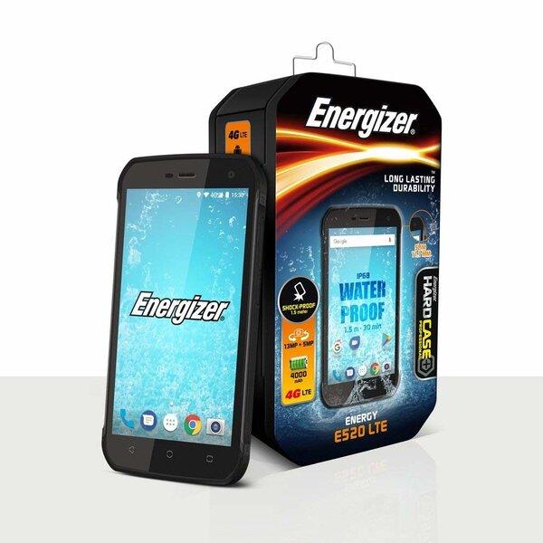 Energizer Hardcase Energy E520, 16GB, Dual Sim, Black kaina