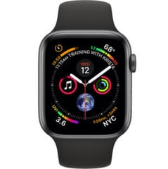 Apple Watch S4, 40mm, Juoda