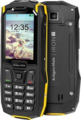 Kruger & Matz Iron 2, Black kaina ir informacija | Mobilieji telefonai | pigu.lt