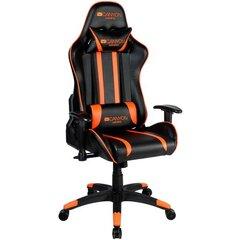 Žaidimų kėdė Fobos CND-SGCH3, juoda/oranžinė