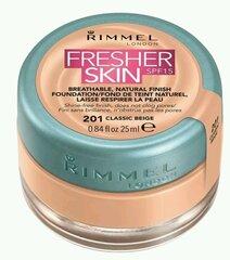 Kreminė pudra Rimmel London Fresher Skin Foundation 25 ml