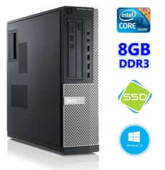 DELL 7010 DT i3-3220 8GB 120SSD DVD WIN10Pro