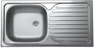 Įleidžiama nerūdijančio plieno virtuvinė plautuvė Livinox 86*43,5, plienas 0.5 mm