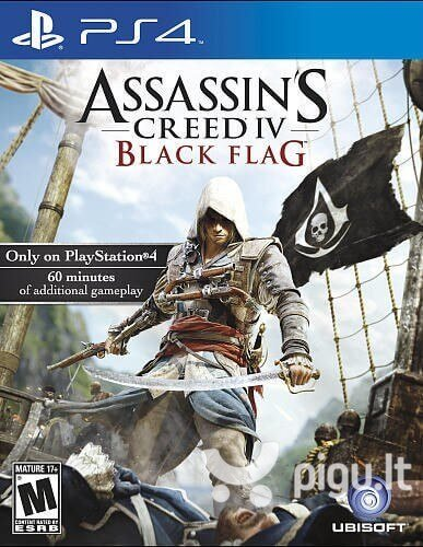 Sony PS4 Assassins Creed IV Black Flag (Playstation Hits)