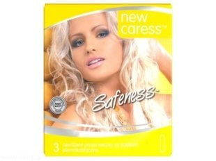 New Caress Safeness prezervatyvai, 3 vnt.