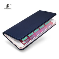 Dux Ducis Premium Magnet Case For Huawei Honor 7С / Y7 (2018) Blue kaina ir informacija | Telefono dėklai | pigu.lt