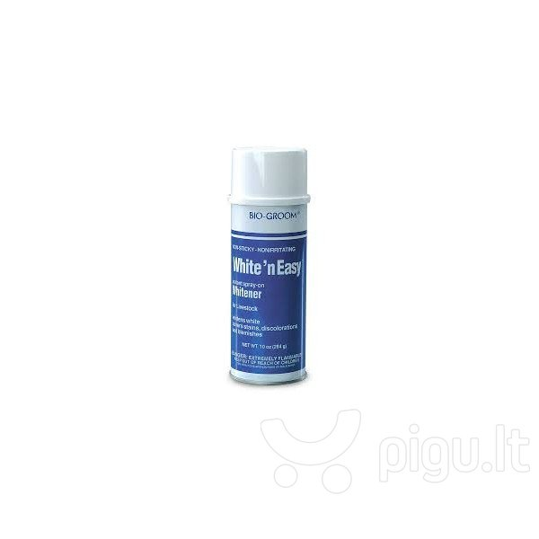 Bio-Groom balinantis aerozolis gyvūnams White'n Easy, 284 g